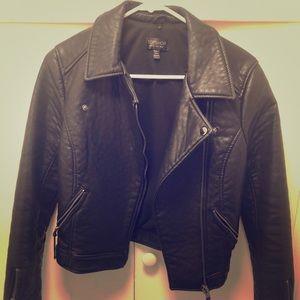 Top shop biker leather jacket